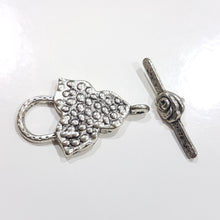 Large Silver Toggle Clasp