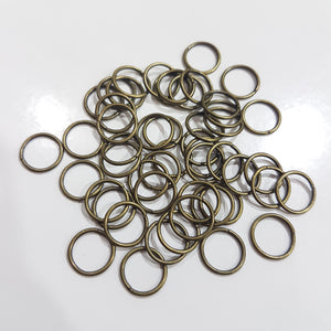 10mm Bronze Jump Rings