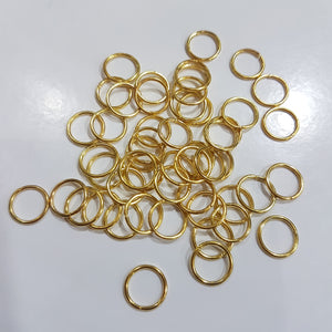 10mm Gold Jump Rings