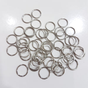 10mm Dark Silver Jump Rings