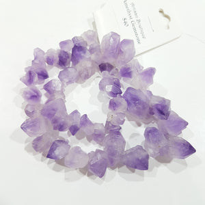 Full Strand Natural Amethyst Gemstone Strand