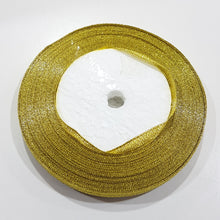 22m Roll Metallic Gold Ribbon