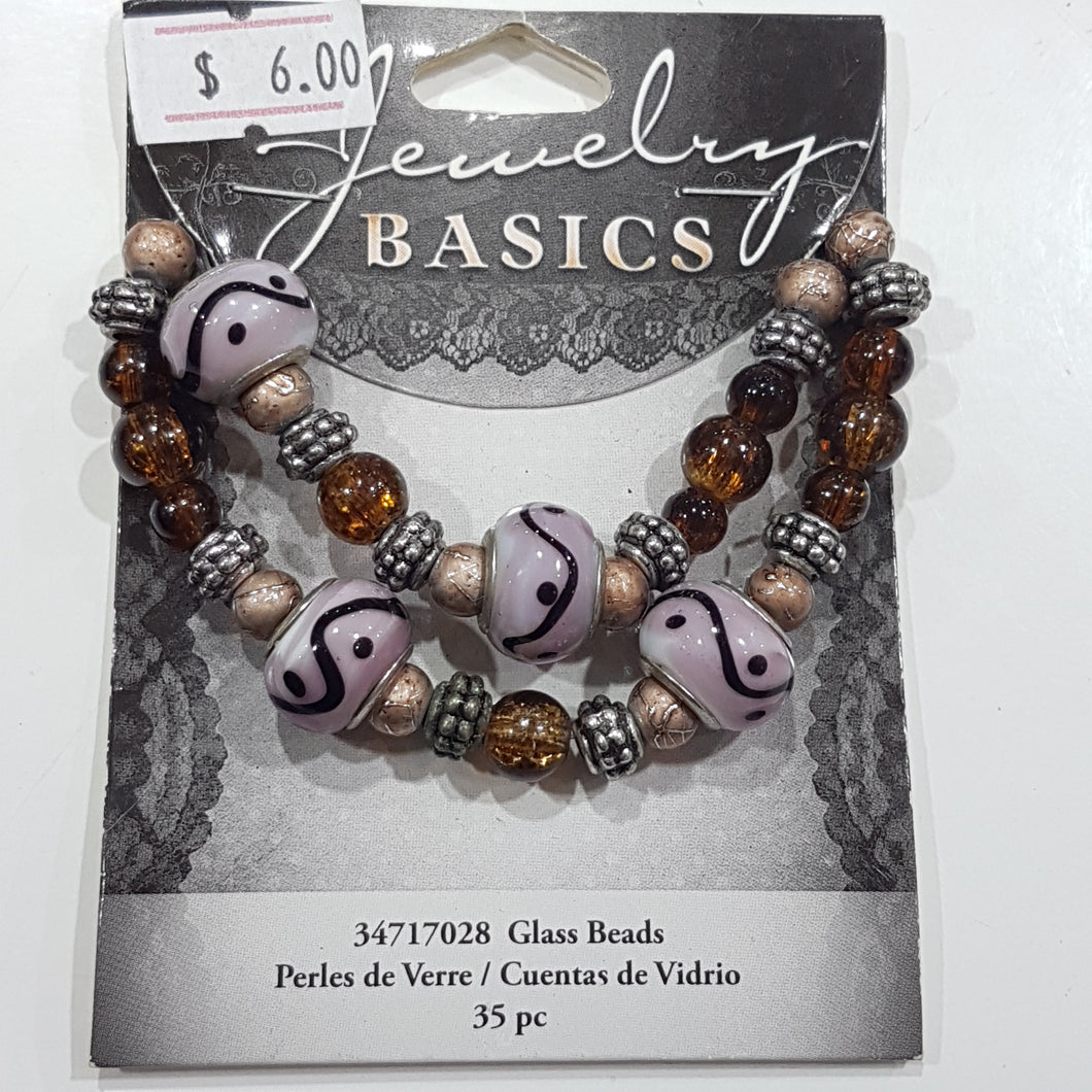 35pc Charm and Bead Mix