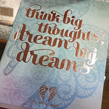 Think Big Thoughts Journal