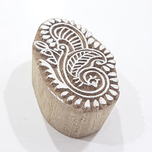 Hand Carved Indian Block Stamp