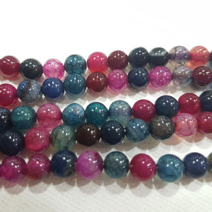 Dyed Agate Gemstone Beads