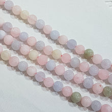 8mm Morganite Gemstone Beads