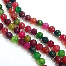 10mm Dyed Agate Gemstone Beads