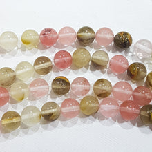 10mm Tigerskin Glass Beads