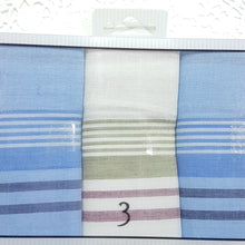 3 Pack Mens Cotton Handkerchief