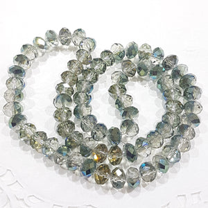 Sparkling Crystal Rondelle Beads