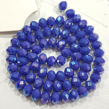70pc  Crystal Rondelle Beads