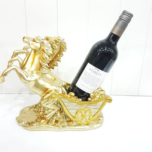 Majestic Horses Wine Bottle Holder