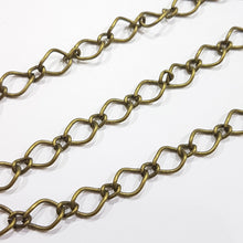 1M Antique Bronze Figaro Chain