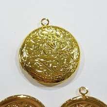 Round Gold Locket