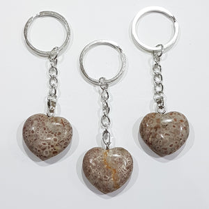 Jasper Gemstone Key Ring
