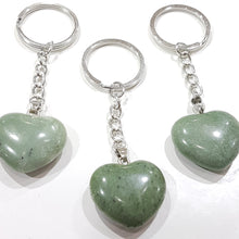 Green Aventurine Gemstone Key Ring