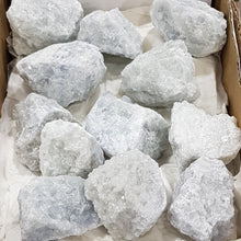 Box of Celestite Gemstones