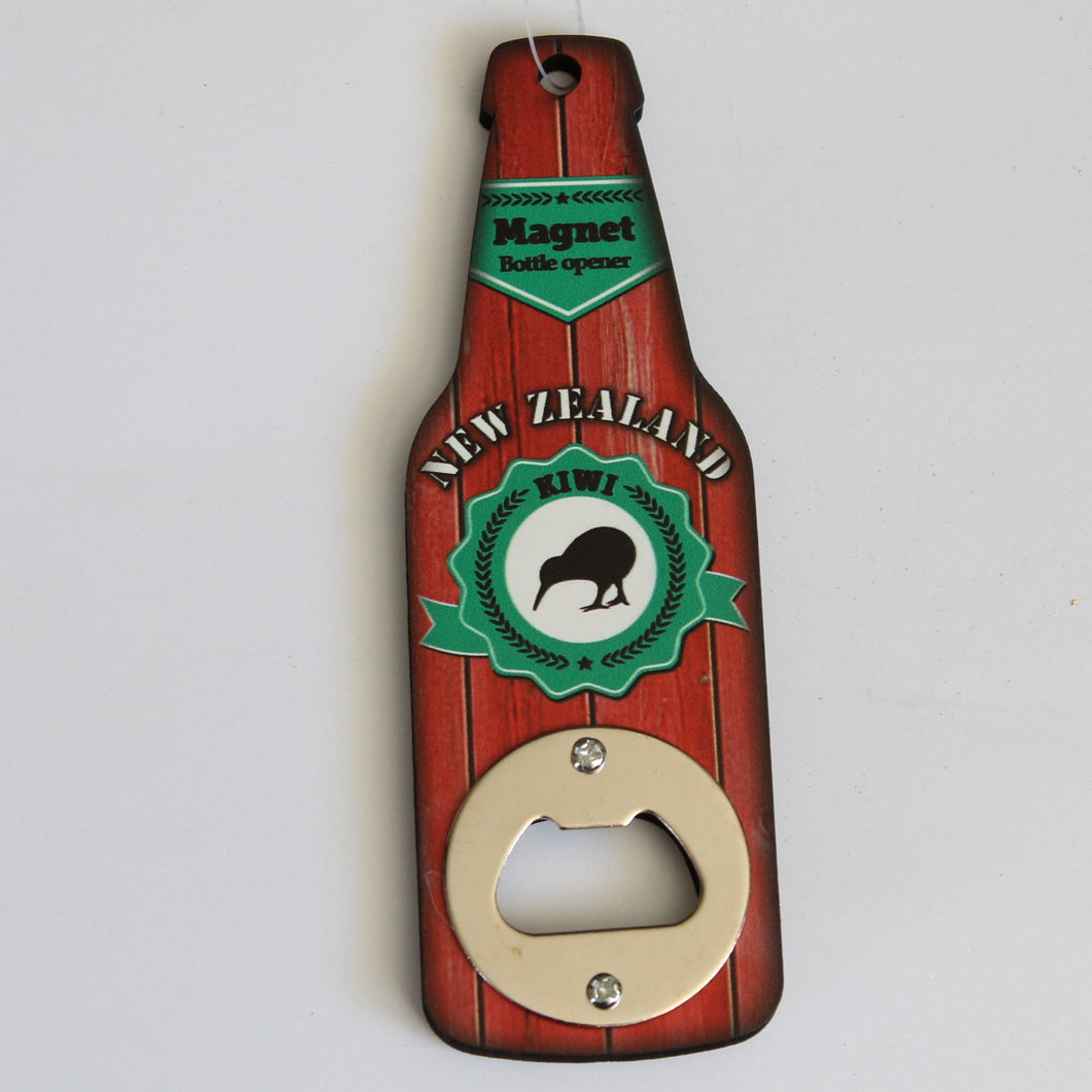 NZ Design Wooden Magnetic Bottle Opener