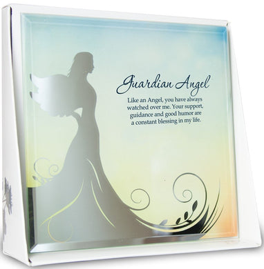 Guardian Angel Mirror Plaque