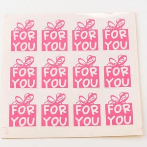 48pc For You Stickers