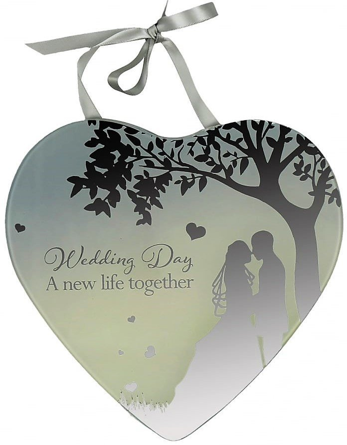 Reflections Of The Heart Mirror Plaque Wedding