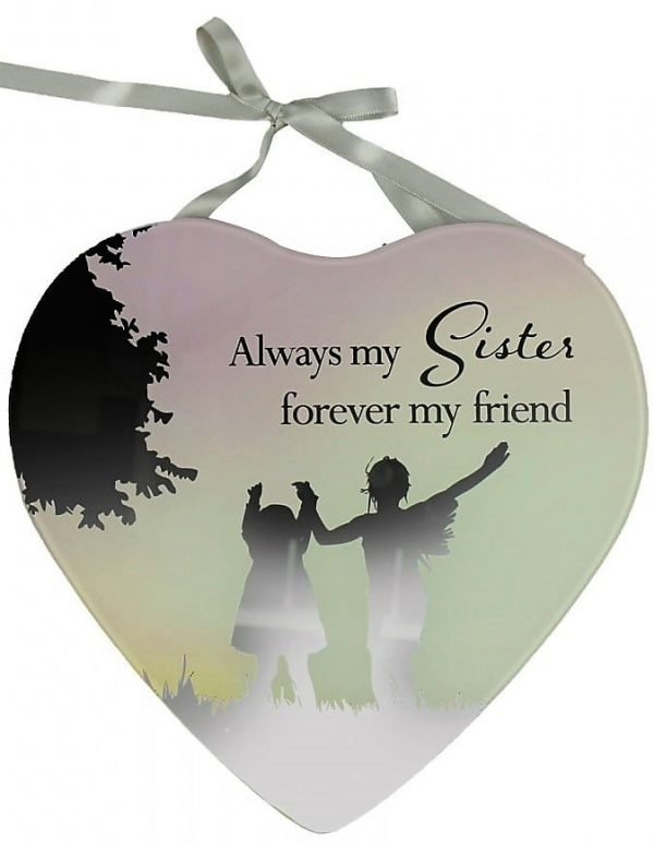 Reflections Of The Heart Mirror Plaque Sister