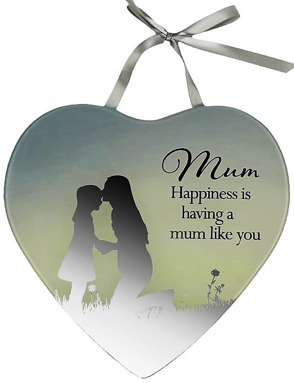 Reflections Of The Heart Mirror Plaque Mum