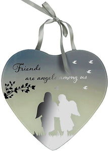 Reflections Of The Heart Mirror Plaque Friends