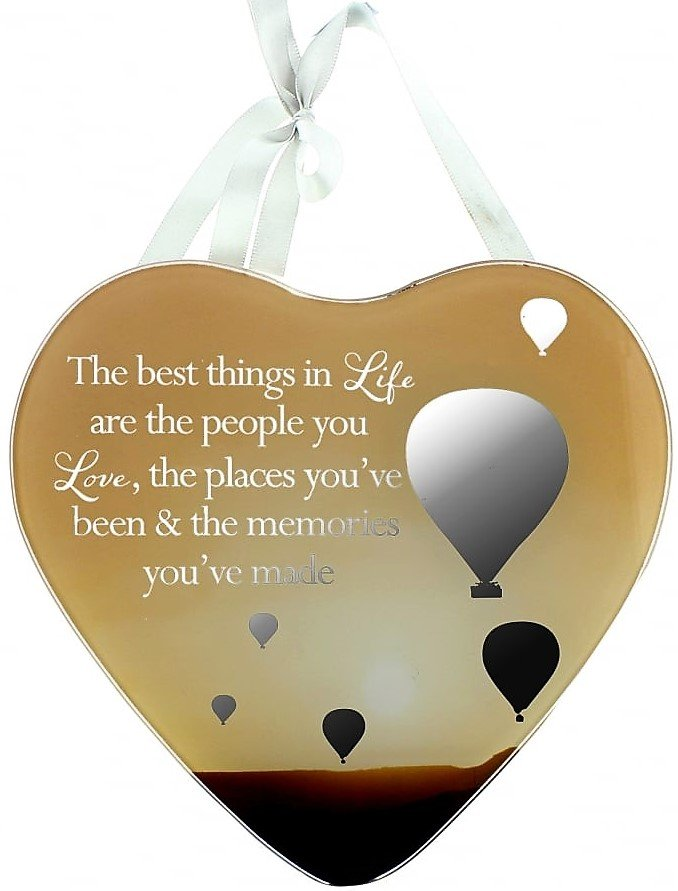 Reflections Of The Heart Mirror Plaque Life