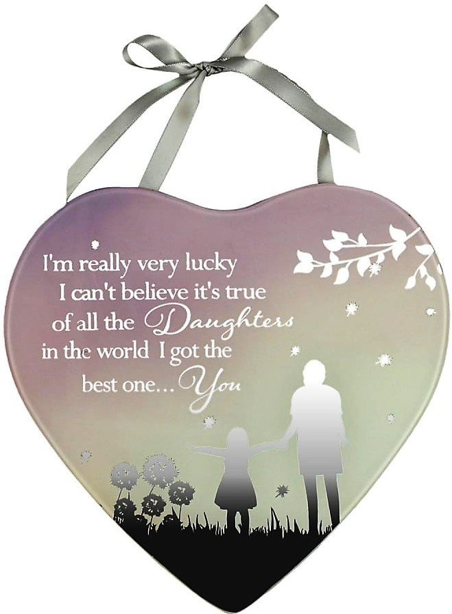 Reflections Of The Heart Mirror Plaque Daughter