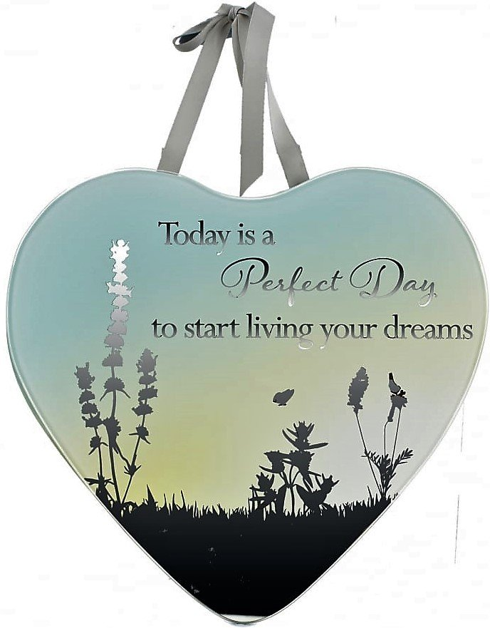 Reflections Of The Heart Mirror Plaque Perfect Day