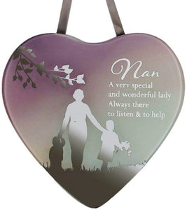Reflections Of The Heart Mirror Plaque Nan