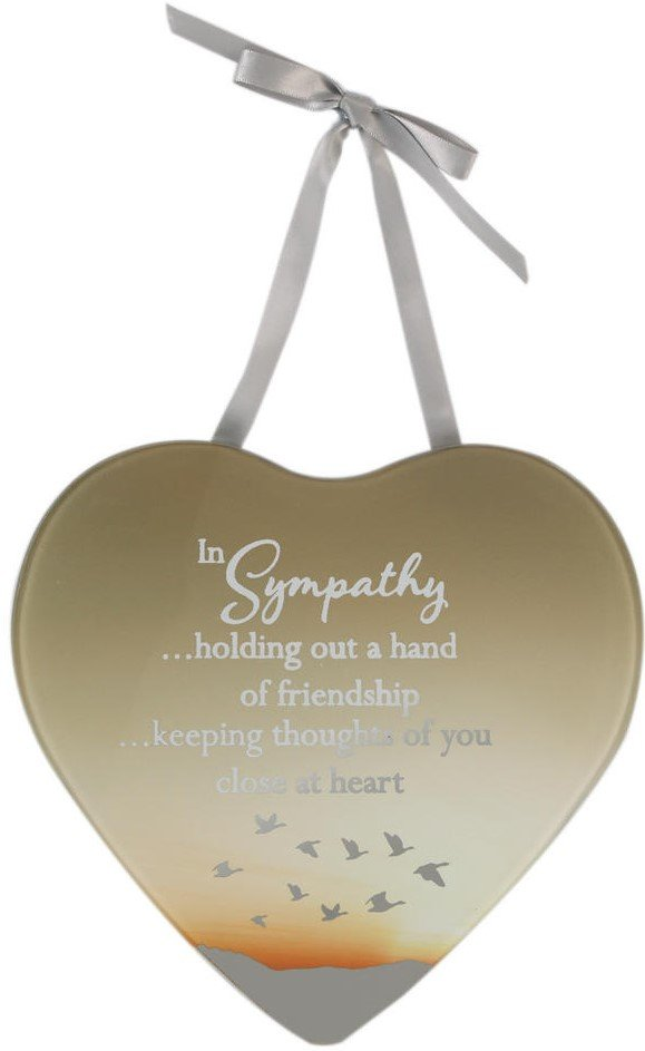 Reflections Of The Heart Mirror Plaque Sympathy