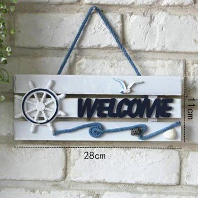 Nautical Welcome Sign