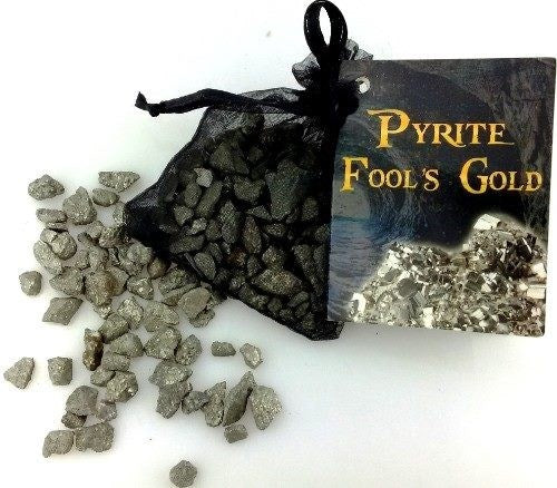 Bag of Fools Gold (Pyrite)