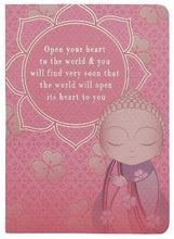 Little Buddha Notebook - Open Your Heart