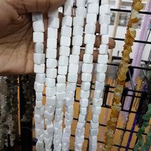 White Calcite Gemstone Beads