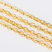 Gold Cross Link Chain 1M