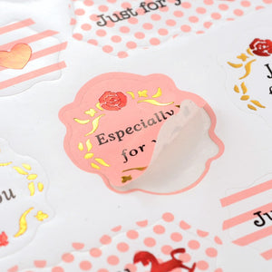 50pc Just For You Stickers