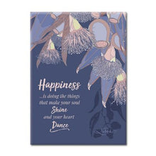 Happiness Botanical Plaque