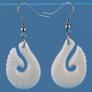 Bone Hook Earrings