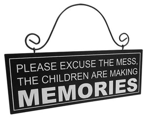 Memories Hanger Sign