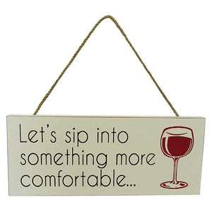 Wine Hanging Sign