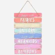 Dance with Fairies Wooden Wall Art