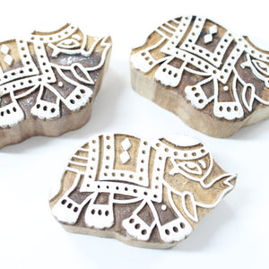Elephant Block Stamp