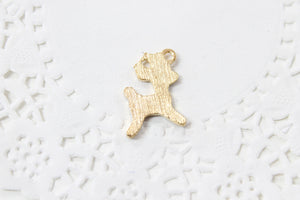 Brown Deer Enamel Charm