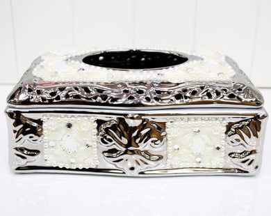 Porcelain Statement Tissue Box