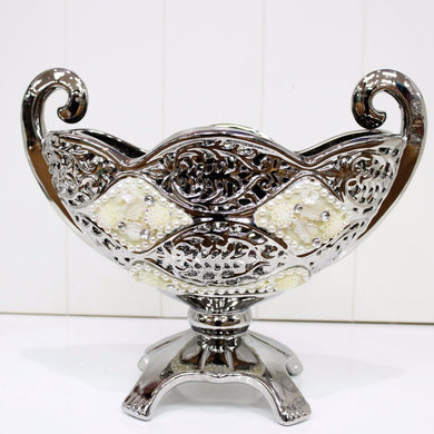 Stunning Porcelain Fruit Bowl