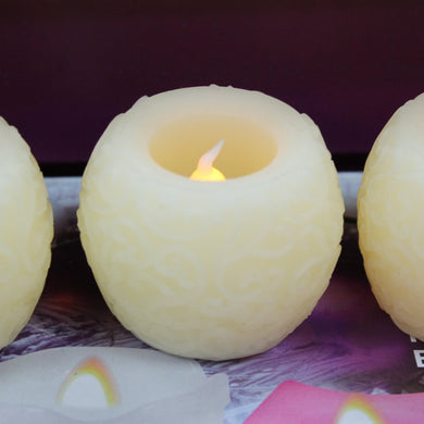 1pc Real Wax Flickering LED Candle